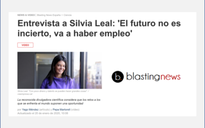 Entrevista en Blasting News