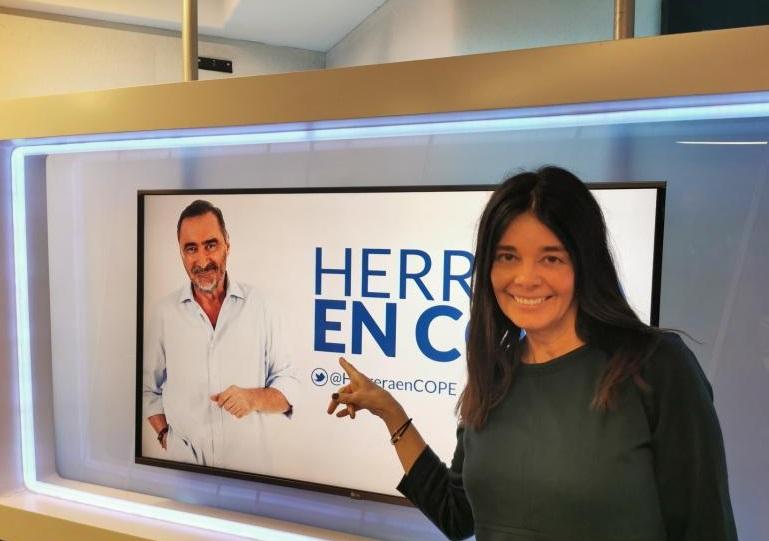 Con Carlos Herrera en La Cope